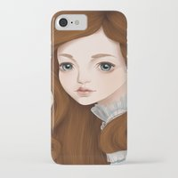 doll iPhone & iPod Cases featuring Doll by Lily Art