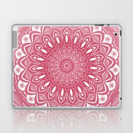 Red Wine Color Mandala Minimal Minimalistic Simple (Yet Bold) Laptop & iPad Skin