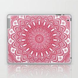 Red Wine Color Mandala Minimal Minimalistic Simple (Yet Bold) Laptop & iPad Skin