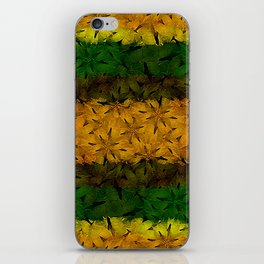 Tribal Floral Pattern iPhone Skin