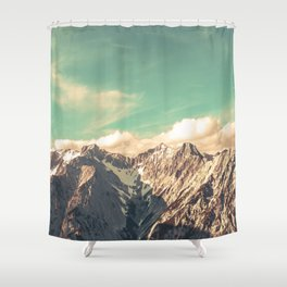 Alpine Magic Shower Curtain