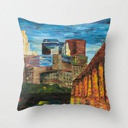 Stone Arch Throw Pillow
