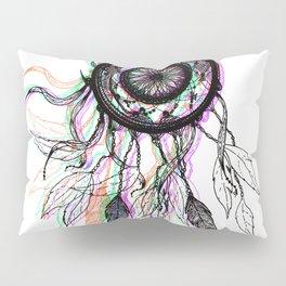 Modern Artistic Native American Dreamcatcher Pillow Sham