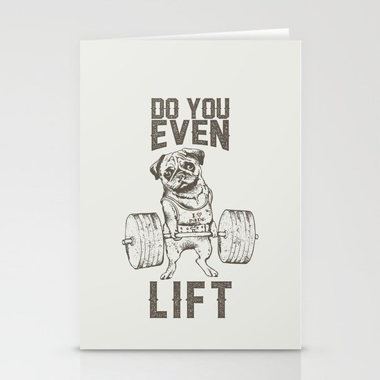 Do You Even Lift Stationery Cards