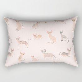 Sphynx Cats Rectangular Pillow