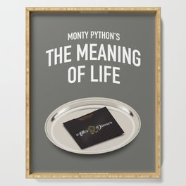 Monty Python's The Meaning of Life - Alternative Movie Poster Serving Tray