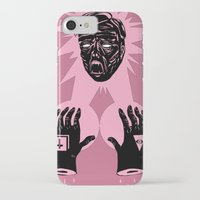horror iPhone & iPod Cases featuring Horror by Olivier Carignan