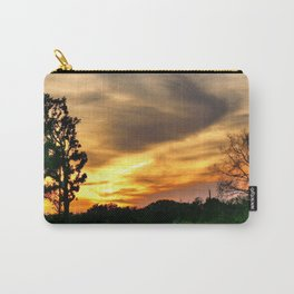 April East Texas Sunset Carry-All Pouch