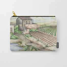 Italian Wine Country Carry-All Pouch