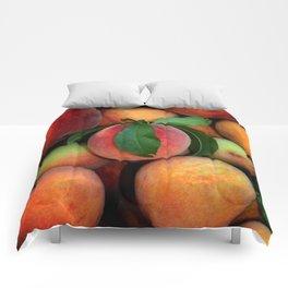 Peachy Peaches Comforters