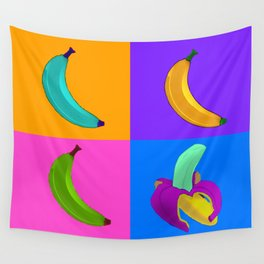 Andy's Bananas Wall Tapestry