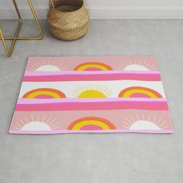 sunrise, sunset Rug