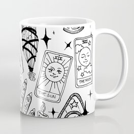 Fortune Teller Starter Pack Black and White Coffee Mug