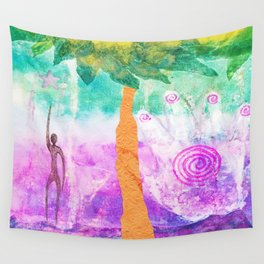 Reaching for the Stars Wall Tapestry