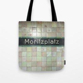 Berlin U-Bahn Memories - Moritzplatz Tote Bag