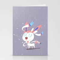 sylveon Stationery Cards featuring Sylveon by Rod Perich