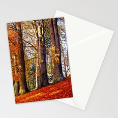 Autumn troika Stationery Cards