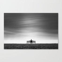 Gazing Into the Light Canvas Print