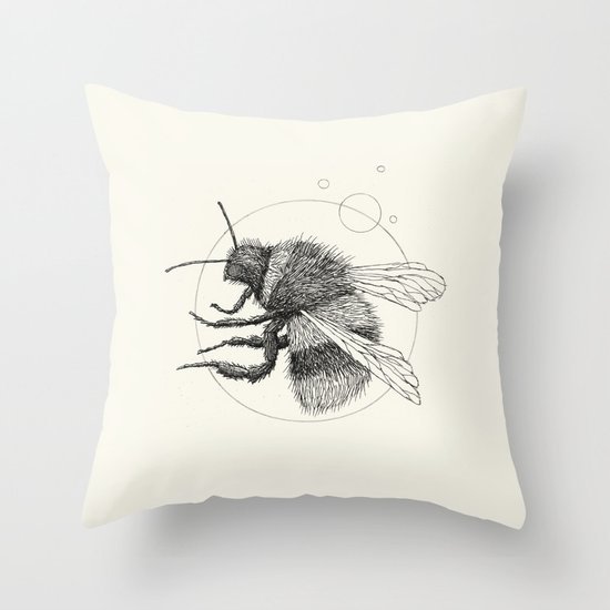 'Wildlife Analysis IX' Throw Pillow