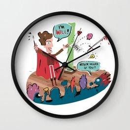 I'm Will Wall Clock