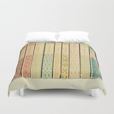 Old Books Duvet Cover