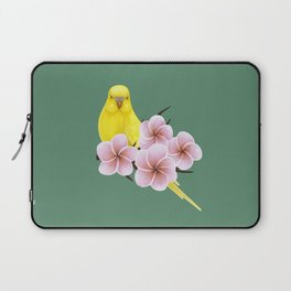 Yellow Budgerigar Laptop Sleeve