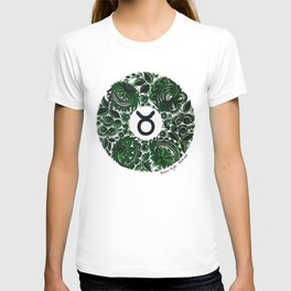 Taurus in Petrykivka style (with signature) T-shirt