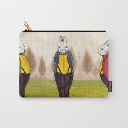 "Rabbiteers ""Professor Lucky"" Carry-All Pouch"