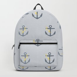 Stormy Nautical Pattern 1 Backpack