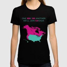 WA OR CA  girl T-shirt