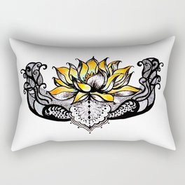 Lotus Light Rectangular Pillow