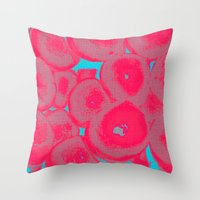 fruit Throw Pillows featuring Fruit by Serena Gailey