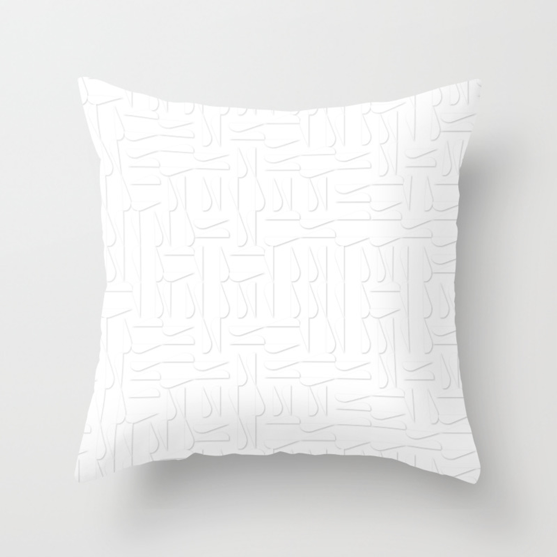 Geometric Large Pattern Throw Pillow