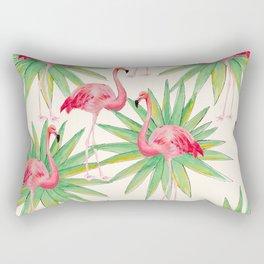 Flamngos 3 Rectangular Pillow