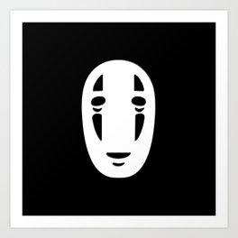 Minimal Cinema - Kaonashi/Spirited Away Art Print