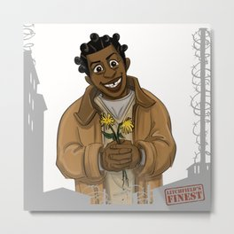 Crazy Eyes OITNB Metal Print