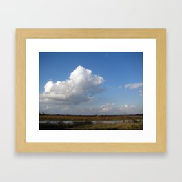 texas big sky Framed Art Print
