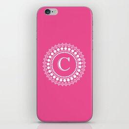 The Circle of C iPhone Skin