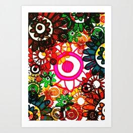 Hippy Shake! Art Print