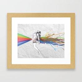 I Am Colour Framed Art Print