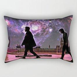 Between two worlds Rectangular Pillow