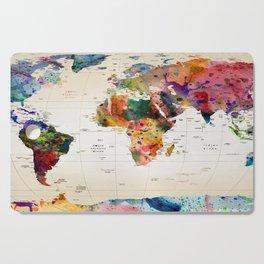 map Cutting Board
