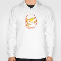 storm trooper Hoodies featuring Storm trooper  by luccabanana