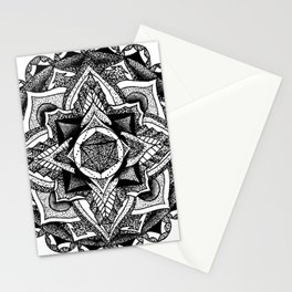Mandala Circles Stationery Cards
