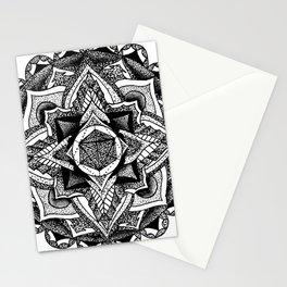 Mandala Circles Stationery Cards
