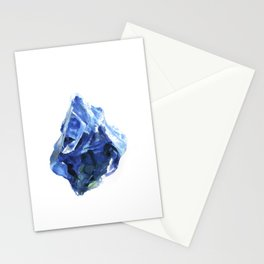 Raw Sapphire Stationery Cards