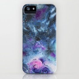 Gemini Galaxy iPhone Case