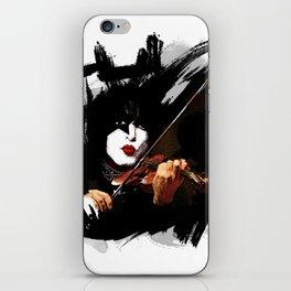 Paganini devil violinist  iPhone Skin