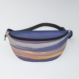 Provincetown Sunset in Blue and Purple Fanny Pack