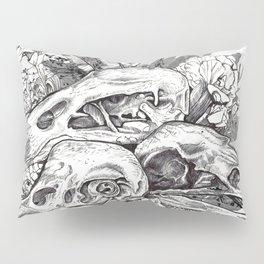 Skull Pile Pillow Sham